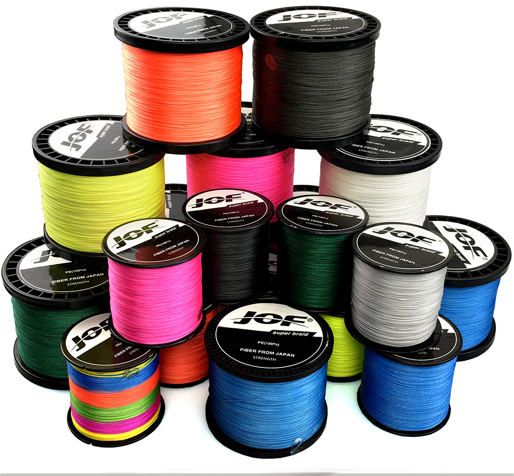 PE Braided Wire 8/4 Strands Multifilament Japanese Fishing Line
