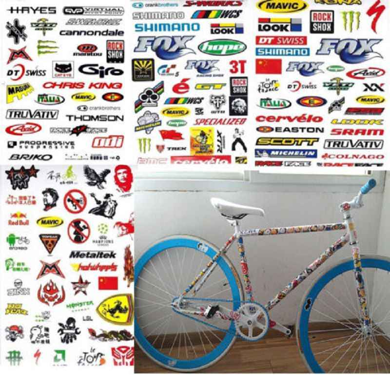 1Pc Stickers Skateboard Snowboard Vintage Vinyl Sticker Laptop Bagage Auto Fiets Sticker Mtb Bike Diy Decals Stickers