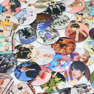 7pcs/set Kpop Bangtan boys pins love yourself Tears Album Brooches Set Badge Accessories Clothes Hat Pin Jewelry Gift for Fans(China)