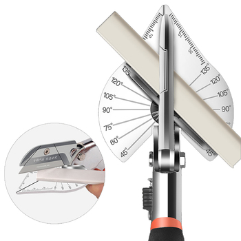 Multi-function angle scissors Crop tool PVC pipe cutter professional electrician Adjustable 35
