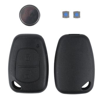 For Renault Trafic Vivaro Master Kango Keyless Entry Remote Key Shell Case 2 Buttons Keyless Entry Remote Control Key Shell Case image