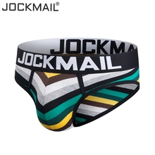 JOCKMAIL Men Underwear Briefs Slip Shorts Cueca Gay men Underwear sexy Male pant