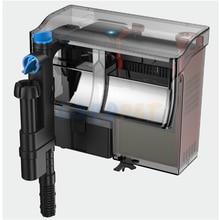 WATERFALL-FILTER Skimmer Uv-Lamp Sunsun Aquarium-Hang FILTER-MEDIA-FREE Uvc-Light Fish-Tank