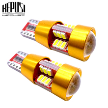 2x w5w T10 Canbus LED Car Light Car Interior light License Plate Lamp Trunk Lamp Parking Lights For focus 2 mondeo galaxy white цена 2017