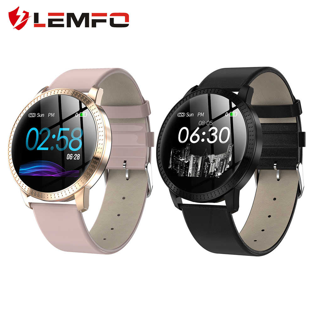 LEMFO CF18 Smart Watch Men IP67 Women Smart watches for Couple Bluetooth Reminder Fitness Bracelet Health Tracker