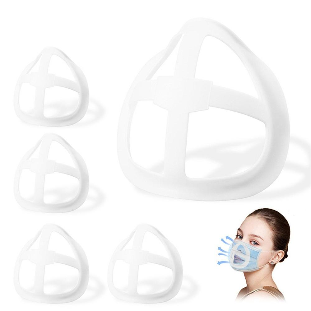 Unisex маски holder Reusable 3D Face Masks Bracket 2020 Mouth Separate Inner Stand Holder improve Breathing Space pop masque F