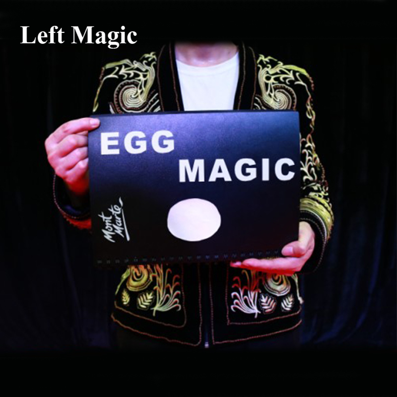Oeuf & colombe livre tours De magie colombe apparaissent dans livre Magia magicien scène Illusions Gimmick accessoires comédie Trucos De Magia