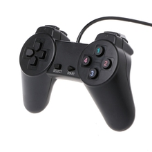 Manette de jeu USB 2.0 manette de jeu filaire contrôleur de jeu pour ordinateur portable PC
