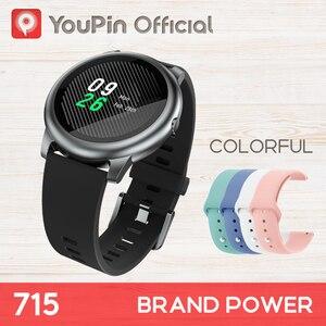 YouPin Haylou Solar LS05 спортивные часы с монитором сна в виде сердца батарея Android iOS металлический круглый дисплей IP68 Водонепроницаемый iphone Металл