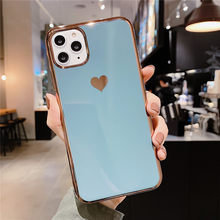 Love Heart Thin Women Case for IPhone 11 Pro XS Max SE 2020 XR X 7 8 6 6S Plus Shockproof Cute Back Cover Capa(China)