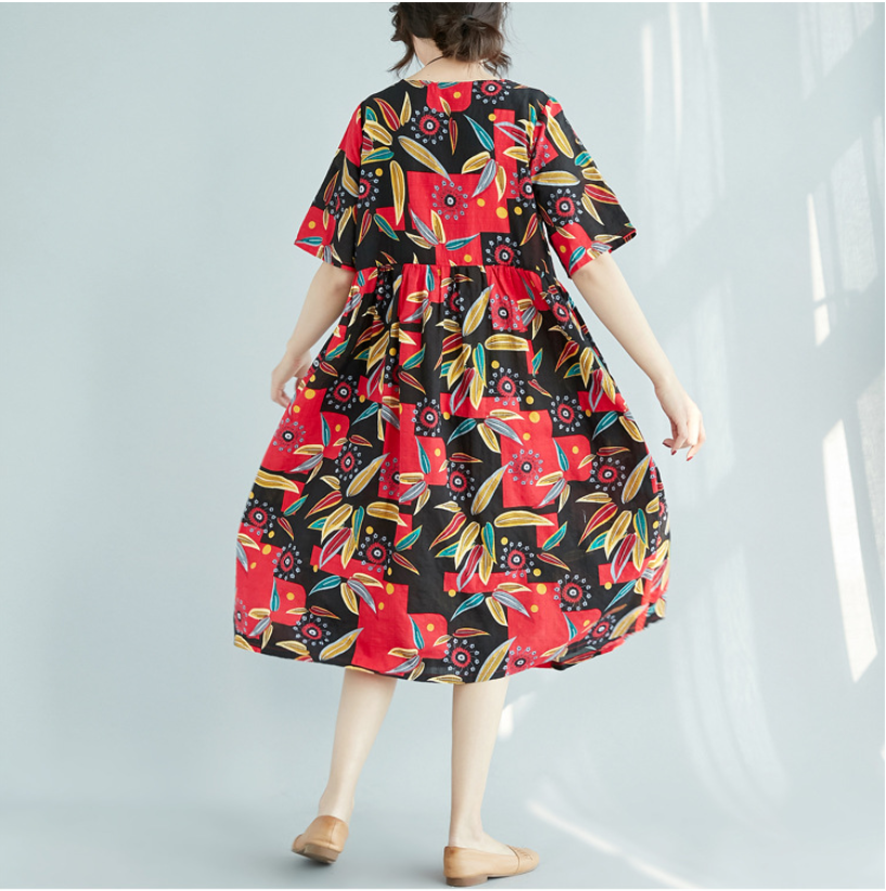 Fashion Floral women 39 s clothing Maternity Dress Bohemian Short Sleeves For Pregnant Women Clothes sweet Style Pregnancy Clothing in Dresses from Mother amp Kids