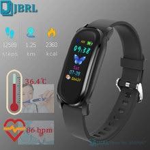 Men Temperature Electronic Wrist Watch Women Digital