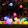 Гирлянда с цветами на солнечной батарее, водонепроницаемая уличная лампа-лента для украшения сада, рождественского праздника, 100 светодиод...