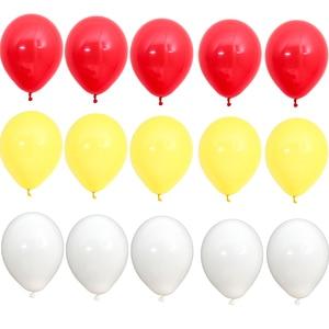 Image 4 - 15pcs 10 inch 짙어지면서 라텍스 풍선 매트 풍선 빨간색 파란색 노란색 여러 가지 빛깔의 풍선 생일 파티 웨딩 용품