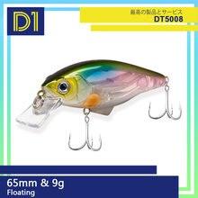 D1 плавающая гольян твердая приманка для рыбалки 65 мм/9 г воблер