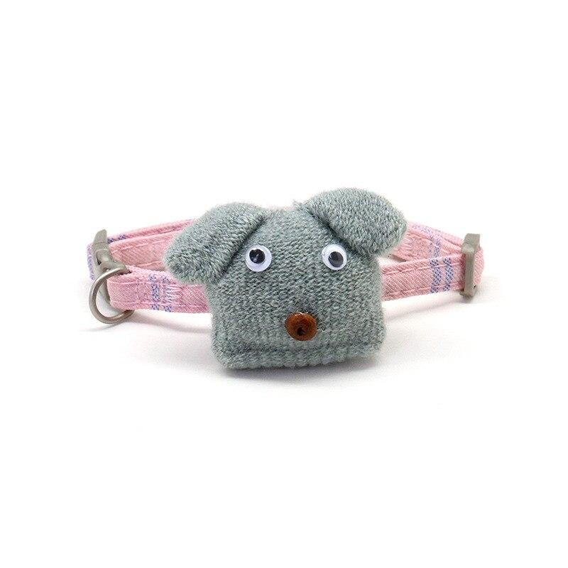 Son Chen New Style Pet Collar Nylon Book Cartoon Dog Single Cats Neck Ring Dog Traction Pet Supplies