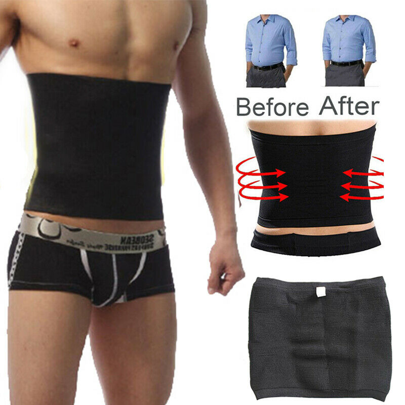 Hot Corset Beer Belly Fat Cellulite Burner Tummy Control Stomach Girdle Body Shaper Slim Patch Men Slimming Waist Trimmer Belt