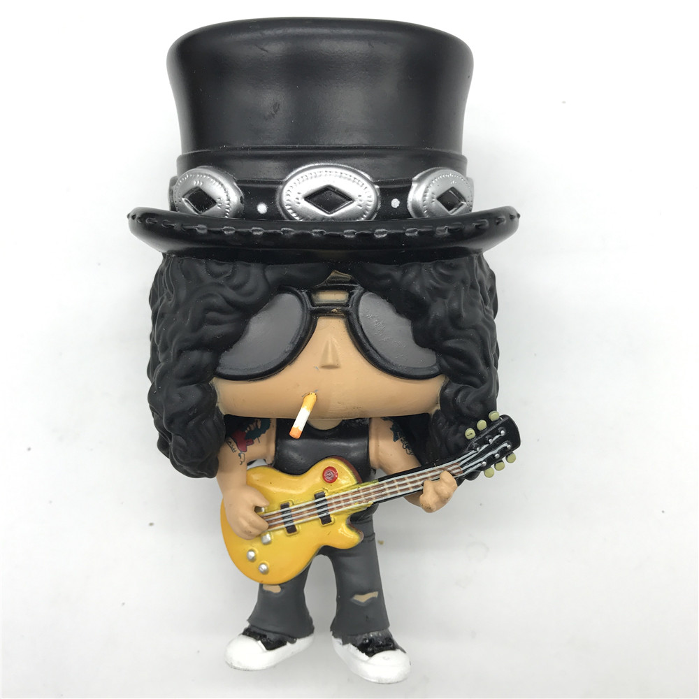 Rocks Slash Model Toy Vinyl Action Figure Collectible Model Toys No Box (The Mouthhave Flaws)