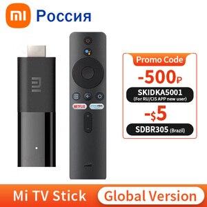Image 1 - Global Version Xiaomi Mi TV Stick Android TV Quad Core 1GB RAM 8GB ROM Bluetooth Wifi Netflix Google Assistant Mi TV Stick