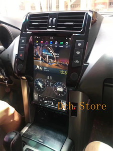 13.6 inch tesla style Android 9.0 Car DVD player For Toyota Land Cruiser Prado 150 2010 2011 2012 2013 2014 2015 2016 2017 PX6