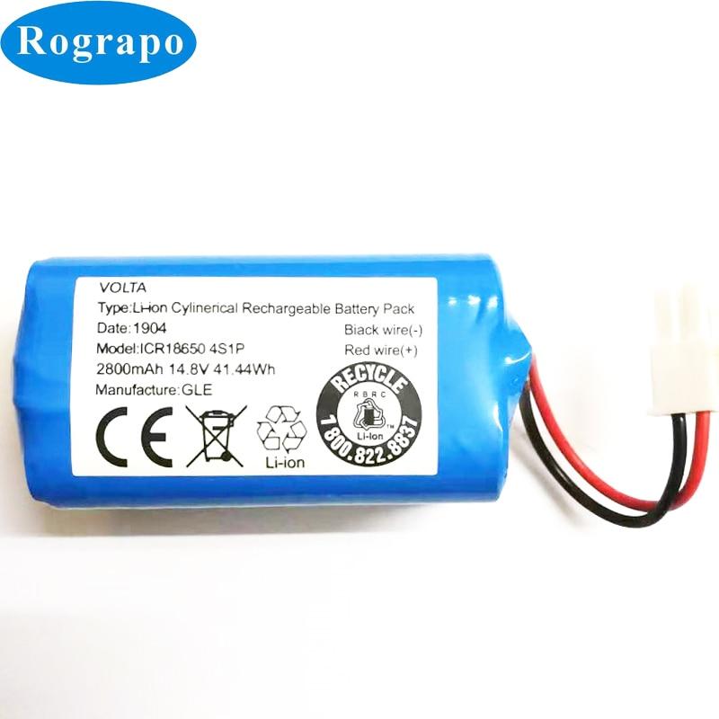 Аккумулятор Для Ecovacs Mirror CEN540, CEN546, CEN550, 558, CEN640, CEN646, X500, X580, KK8, CR120, CR130, V780, V7, V7S, 2 провода
