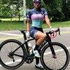 2020 equipe profissional das mulheres triathlon terno jérsei ciclismo skinsuit macacão maillot ciclismo roupas de manga longa conjunto 20
