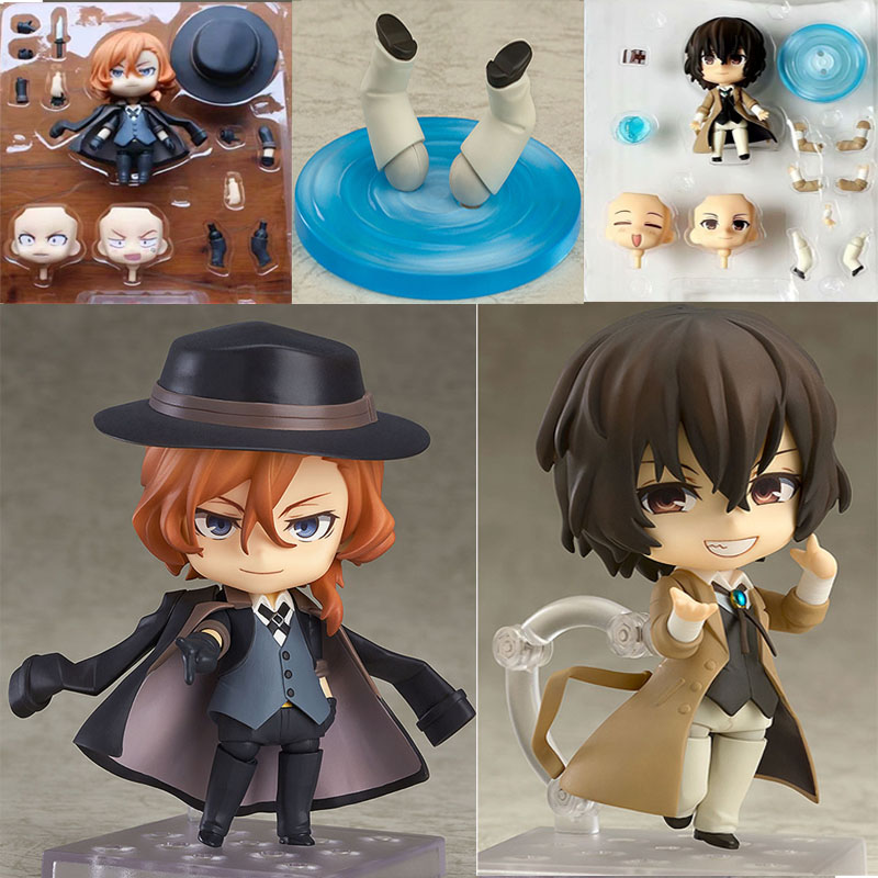 Bungo Stray Dogs 657# Dazai Osamu Mini 1/10 Scale Painted Figure 676# Nakahara Chuya Action Figure CollectableToy