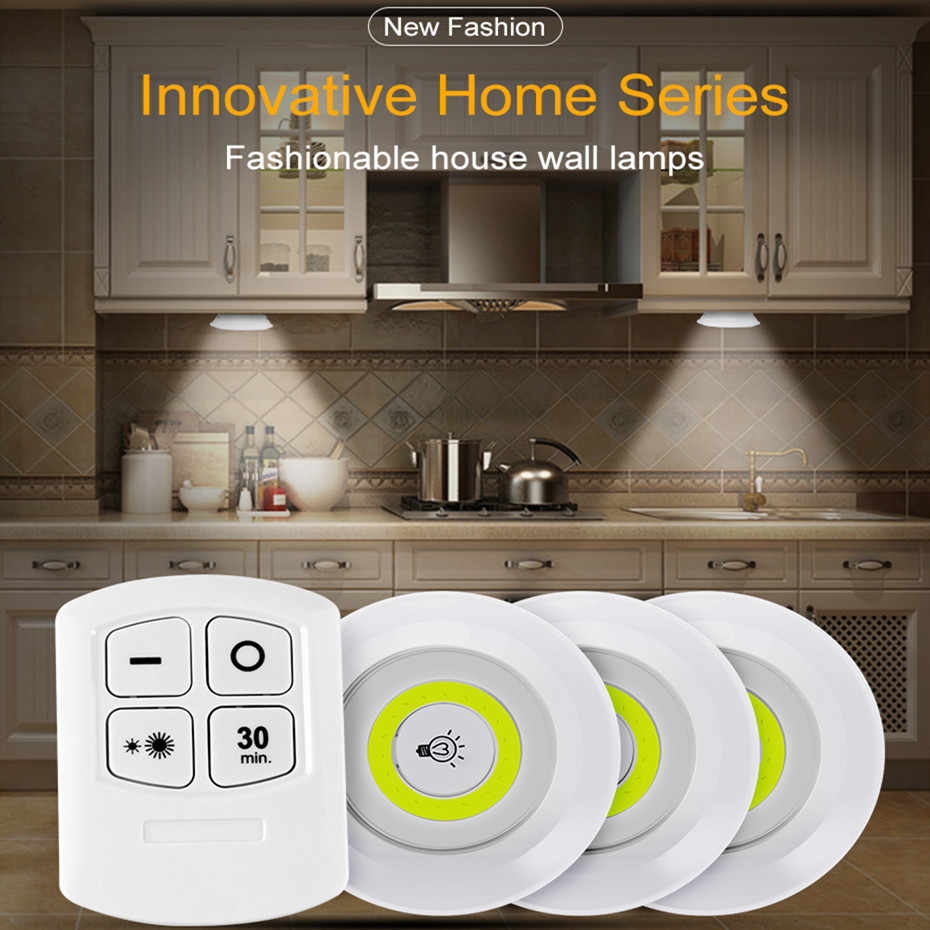 wireless remote control led under