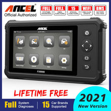 Auto-Scanner DPF Ancel Fx9000 OBD2 Professional 15-Service TPMS IMMO Full-System Functions