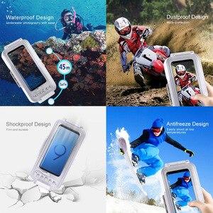 Image 4 - Cadiso 45 m/147ft Su Geçirmez Dalış Durumda Konut Fotoğraf Video Alarak Sualtı Kapak için Galaxy Huawei Xiaomi Tipi tip c Portu