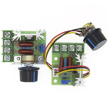 AC 220V 2000W SCR Voltage Regulator Dimming Dimmers Motor Speed Controller Thermostat Elect