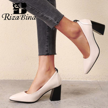 RizaBina Plus Size 32-48 Fashion Women Pumps Shoes
