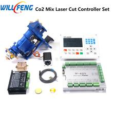 TF-6225 Automatic Focus Co2 Laser Metal And Non Metal Mixed Cut Controller ,Laser Cut Head , Motor Driver , Mirror And Lens