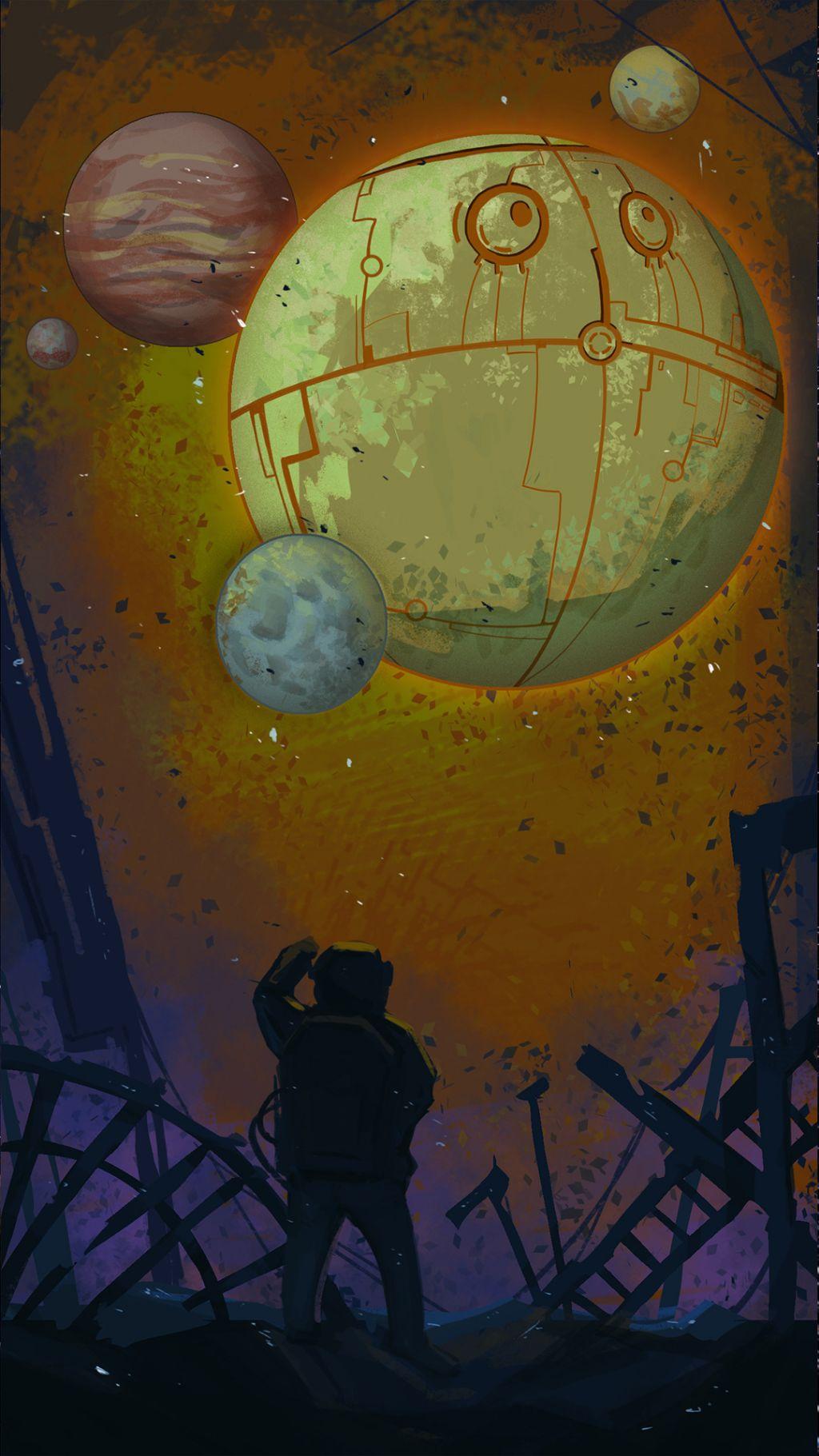 星空、太空:高清手机壁纸插图5