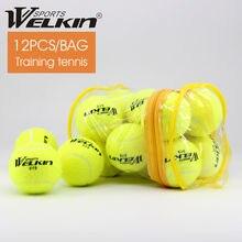 Мяч для тенниса эластичный резиновый 12 шт