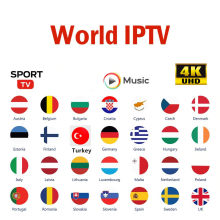 Europa Iptv Abonnement 8000 Tv Kanalen 12000 Films Uk Duits Arabisch Nederlandse Polen Portugal Smart Tv Iptv M3U Voor Android(China)