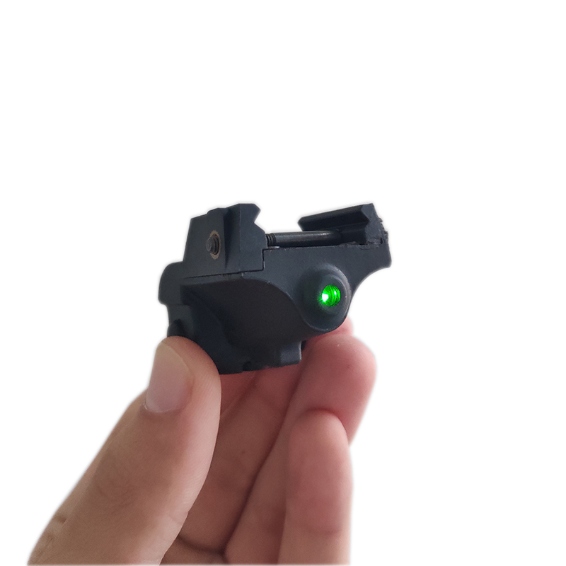 Laserspeed Mini Green Laser Sight Tactical <font><b>Glock</b></font> Accessories Beretta 92 Air Rifle Mira Laser Red <font><b>9mm</b></font> <font><b>Gun</b></font> Sight for Shooting image
