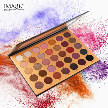 IMAGIC New35C Eye Shadow Flash Eyeshadow Makeup Pallete Matte Eye Shadow Palette Nude Makeup Set Cosmetic Powder Pigment neon