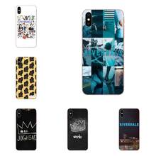 TPU Phone Cover Case For Samsung Galaxy Note 5 8 9 S3 S4 S5 S6 S7 S8 S9 S10 5G mini Edge Plus Lite Tv Riverdale Inspired(China)