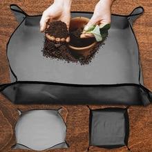 Cushion Lock Transplanting-Pot Gardening-Pad Land-Mat Soil-Flower Anti-Dirty Foldable