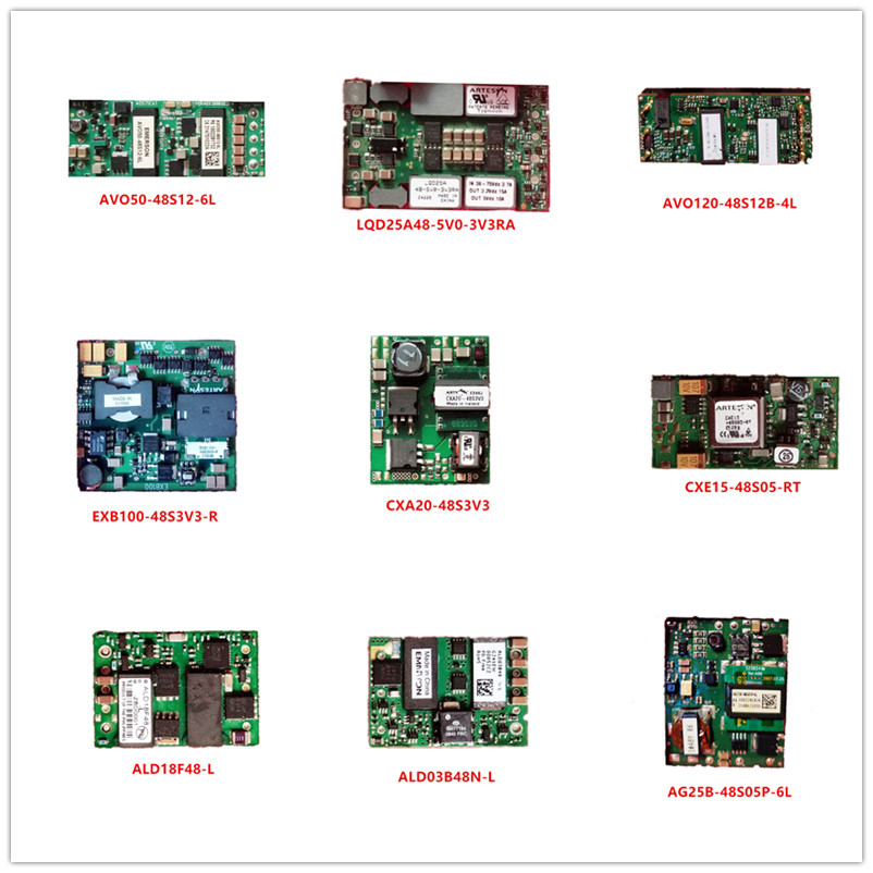 AVO50-48S12-6L LQD25A48-5V0-3V3RA AVO120-48S12B-4L EXB100/CXA20-48S3V3-R CXE15-48S05-RT ALD18F48-L  ALD03B48N-L AG25B-48S05P-6L