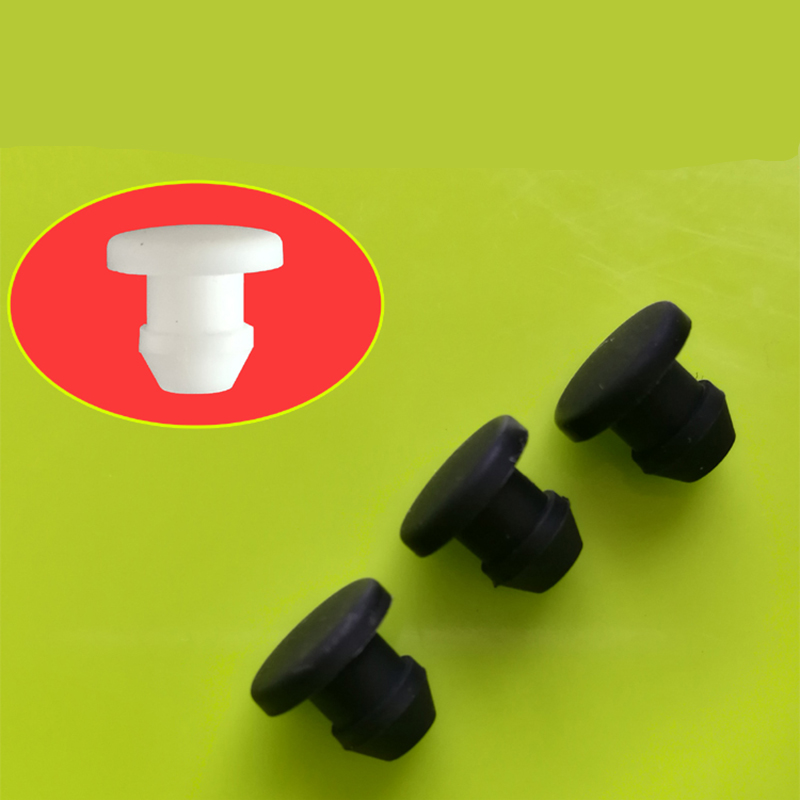 50mm Solid Silicone Rubber Hole Plugs Blanking End Caps Seal Stopper Bore 2mm