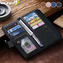 Luxury Zipper Wallet Note9pro Case For Xiaomi Mi Redmi Note 9S 9 10 Pro Max Flip Leather  Coque Card Slot Stand Phone Bags Cover