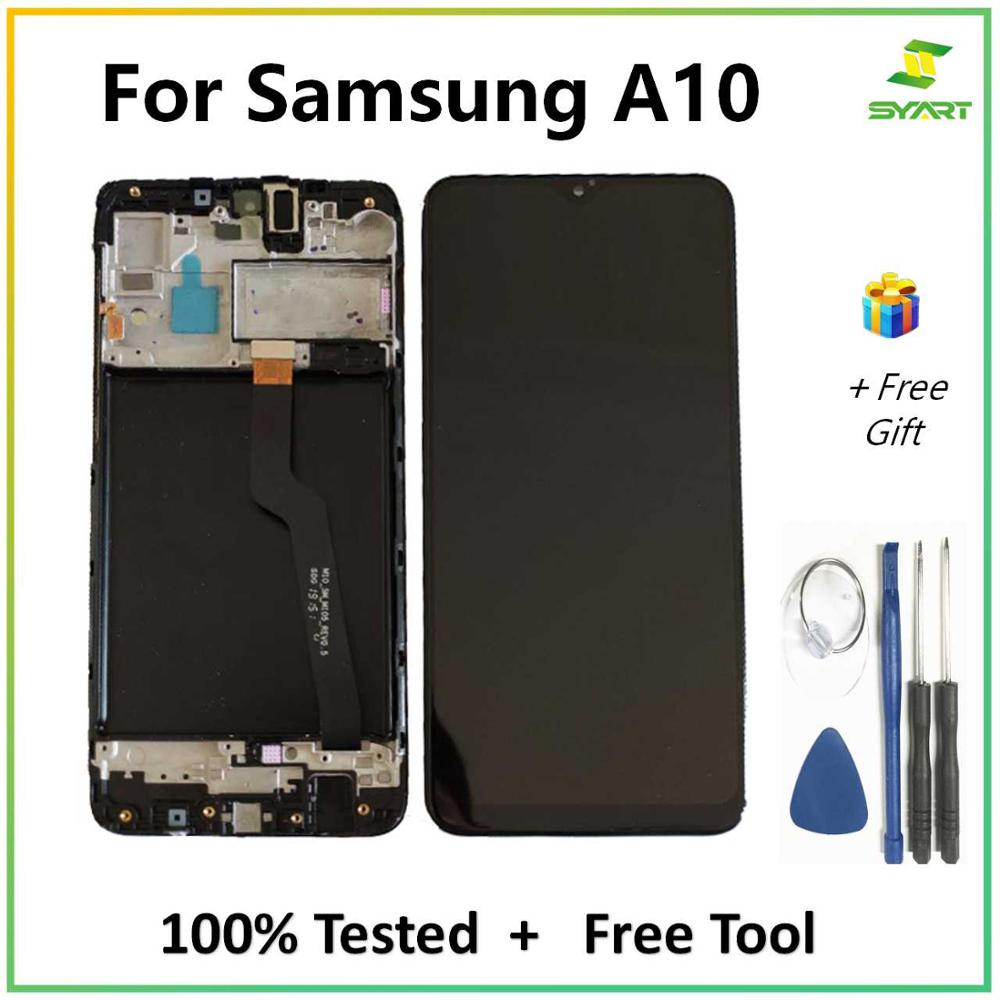 For <font><b>SAMSUNG</b></font> GALAXY <font><b>A10</b></font> A105 <font><b>LCD</b></font> Display Touch <font><b>Screen</b></font> Digitizer Assembly With Frame A105 A105F For <font><b>SAMSUNG</b></font> <font><b>A10</b></font> <font><b>LCD</b></font> <font><b>Screen</b></font> image