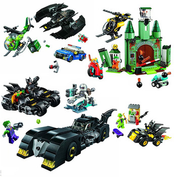 New Super Heroes DC Batcaves Clayface Invasion Compatible Batman 76122 Building Blocks for Kids Christmas Gift super heroes rabbit simpsons batman nightmare catman poison ivy march harriet harley quinn dick grayson buiding blocks kids toys