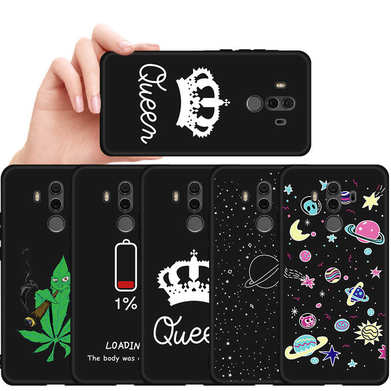 Leaves Pattern Matte Case For Honor 9 10 Lite 20 Pro V20 Pro 8C 8X Max 9X Pro Protective Phone Cover On For Huawei Mate10 Lite