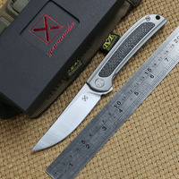 DICORIA YX-635 folding knife Ball bearing S35VN blade TC4 Titanium handle camping hunting Outdoor suvival pocket knives EDC tool