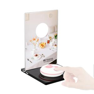 Image 4 - Retekess TD024 5pcs Mechanical Desktop Card For Call Button Restaurant Pager Customer Service Wireless Caller Waiter Call Button