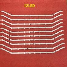 10 sztuk/partia podświetlenie LED strip dla UE32H5303 UE32EH5000 UN32EH5000 D3GE 320SM1 R2 LM41 00001S BN96 28763A 35204A 34193A 33972A