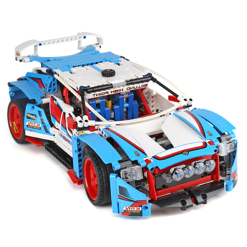 20077-1085Pcs-Technic-Series-Compatible-With-42077-Rally-Car-Set-Building-Blocks-Bricks-Educational-Children-Toys